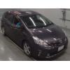 Минивэн гибрид Toyota Prius Alpha кузов ZVW41W модификация S Tune Black гв 2013